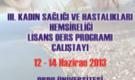 3.Kadın Sağlığı Hemşireliği Lisans Eğitimi Çalıştayı