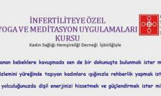 İnfertiliteye Özel Yoga ve Meditasyon Uygulamaları Kursu
