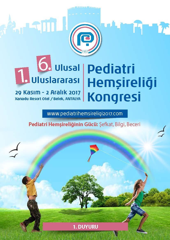 Pediatri Hemşireliği - 1. Duyuru TR_Sayfa_1